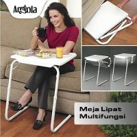 Angola Meja Lipat Portable D25 Meja Laptop/Makan/Belajar Serba Guna