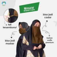 Masker Cadar Maskervit Original ( Multifungsi ) Bahan Wolvis Premium