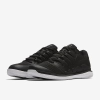Sepatu Tenis Nike Air Zoom Vapor X Hc - Black/Vast Grey/Anthracite
