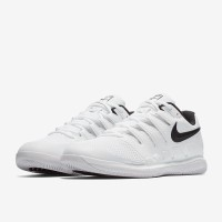 Sepatu Tenis Nike Air Zoom Vapor X Hc - White/Black/Vast Grey/Summit W