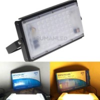Dijual LED Sorot Slim Flood Light Hinomaru 50w Extendable Murah