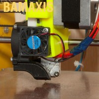 Bamaxis Kipas Pendingin 3D Printer 24V dengan Bearing Brushless