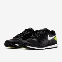 Sepatu Tenis Nike Air Zoom Vapor X Clay - Black/White/Volt