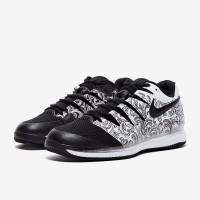 Sepatu Tenis Nike Air Zoom Vapor X HC - White/Black