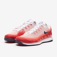 Sepatu Tenis Nike Air Zoom Vapor X Knit - Laser Crimson/Gridiron/Gym R