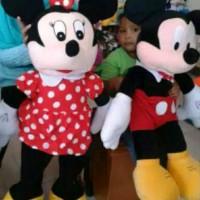 BARU boneka mickey mouse & minimouse jumbo sepasang HR2216