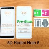Xiaomi Redmi Note 5 3d 4d 5d Full Cover Premium Tempered Glass