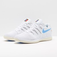 Sepatu Tenis Nike Air Zoom Vapor X CPT - White/University Blue/Light C