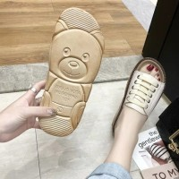 Sandal Flat Wanita Tali Vintage - Sendal Jepit Cewek Kulit Sintetis