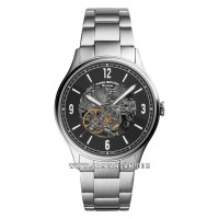 Fossil Forrester ME3180 Automatic Black Skeleton Dial Stainless