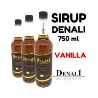 DENALI FLAVOURED SYRUP VANILLA For Cafe Sirup Vanila Gourmet Kafe Untu