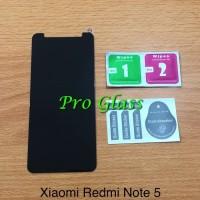 Xiaomi Redmi Note 5 Privacy Anti Spy Antispy Premium Tempered Glass