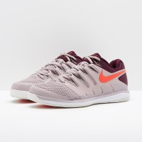Sepatu Tenis Nike Air Zoom Vapor X Hc - Particle Rose/Bright Crimson/B