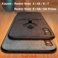 Case Xiaomi Redmi Note 4 4X 5 6 7 8 Pro Soft Case Elk Cloth
