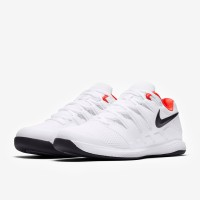Sepatu Tenis Nike Air Zoom Vapor X Carpet - White/Black/Bright Crimson