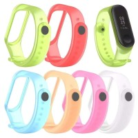 Tali Rubber Smart watch Xiaomi MI Band 3 murah