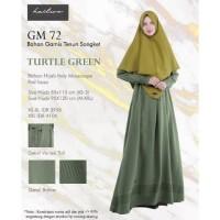 SET BAJU GAMIS Syari Hijab Wanita Tenun Songket Polos GM 72 Hai-Hai