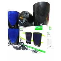 Speaker F-032 MEGABASS untuk Komputer HP F032 EXTRA POWER BASS
