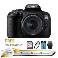kamera canon 800d kit 18-55 is STM paketan