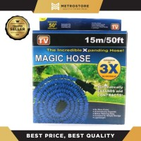 Magic Hose Selang Air Ajaib Elastis 15M 15 Meter 50 Feet