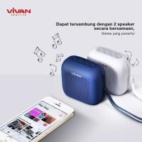 Vivan S1 Speaker Mini Bluetooth Wireless Waterproof Garansi Resmi Ori