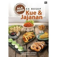 Buku 55 Resep Kue & Jajanan Ala DEBM   Robert Hendrik Liembono