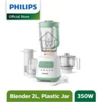 (HARGA PROMO) Philips Blender 4in1 Plastik Mika Jar HR2223/30 HR 2223