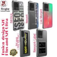 Ringke Fusion Design Case Samsung 20 Plus and case S20 Ultra - S20 Plus, Seoul