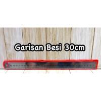 Penggaris Besi 30cm (Pcs)