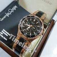 jam tangan wanita alexandre christie ac 2294 BF BlackRosegold