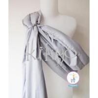 Gendongan ring bayi grey / cukin ring / gendongan sling