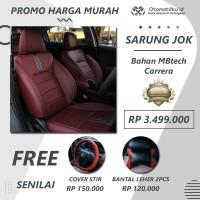 Paket Sarung Jok Mobil HONDA BRIO MBTECH CARERA Otomotifku Berkualitas