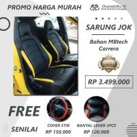 Paket Sarung Jok Mobil TOYOTA AGYA MBTECH CARERA Otomotifku Terbaik