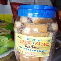 Gipang Banten lapis kacang ketan jipang toples besar oleh oleh banten