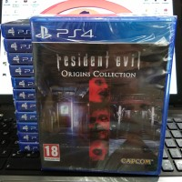 Kaset /Bd Resident Evil Origins Collection Ps4