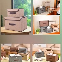 SBS003 - 2 in 1 Colour Storage Box/ Tempat Penyimpanan (2tingkat 2box)