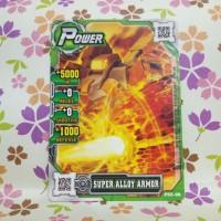 hero of robots normal power super alloy armor ( iron post ) versi 2