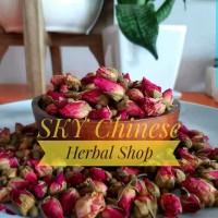 Teh Bunga Mawar Premium / Organic Rose Buds Tea (Dried) Superior Grade