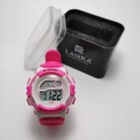 jam tangan anak digital sporty water resist anti air merk LASIKA