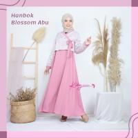 Gamis Katun Jepang dan Ity Crepe Premium Model Korea Baju Muslim Wanit