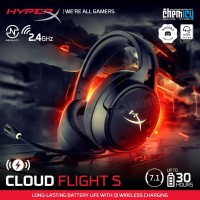 HyperX Cloud Flight S 7.1 Surround Sound Wireless Gaming Headset
