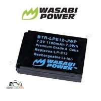 Wasabi Power Battery Canon LP-E12, Baterai Kamera