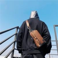Leather Slingbag / Tas Hp / Tas Selempang Pria Wanita