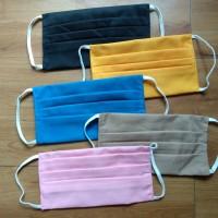 Masker Kain 3ply Filter Tissue Tali Earloop