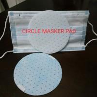 Circle Masker Pad Pelapis Extra Masker Harian - Isi 2 Masker + 2 Pads