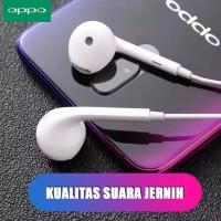 Headset Oppo Original 100% bagus suara Jernih
