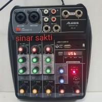 MIXER ALESIS SPEEDUP AL4/SPEEDUP4 4CH USB-BLUETOOTH-RECORDING PC BISA