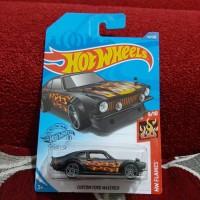 Hotwheels Custom Ford Maverick black Flames