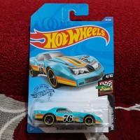 Hotwheels 76 Greenwood Corvette blue hot wheels
