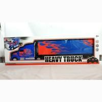 Mainan Mobil R/C Heavy Truck Kontainer RC truk Trailer
